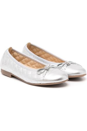 ANDANINES Quilted effect ballerinas