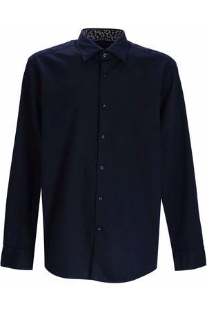 HUGO BOSS Men Long sleeves - Joe Kent long-sleeve cotton shirt