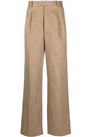 Maison Margiela Men Formal Pants - Wide-leg tailored trousers - Neutrals