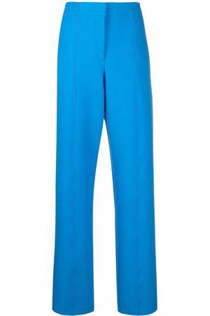 Salvatore Ferragamo High-waisted straight-leg trousers