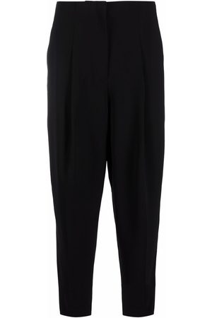 THEORY Women Pants - High-waisted slouchy trousers