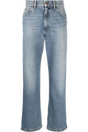ERL Low-rise straight-leg jeans