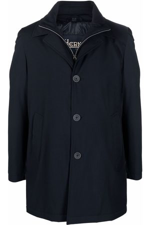HERNO Men Coats - Single-breasted fitted coat