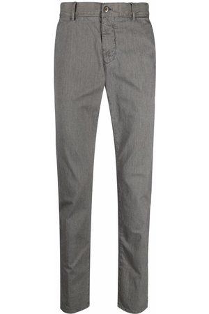 Incotex Men Formal Pants - Slim-fit tailored trousers - Grey