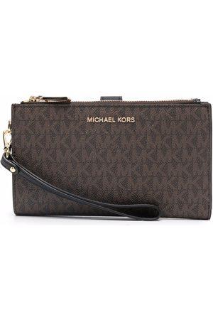 Michael Kors Adele monogram clutch bag
