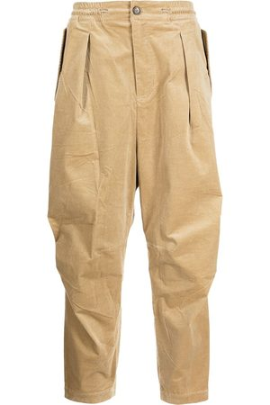 SONGZIO Tapered corduroy trousers