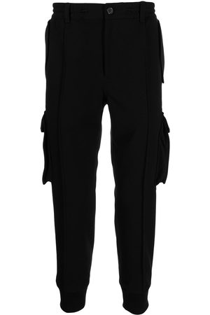 SONGZIO Cargo-pocket tapered trousers