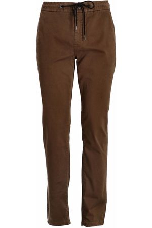 HUGO BOSS Tapered-fit stretch-cotton trousers