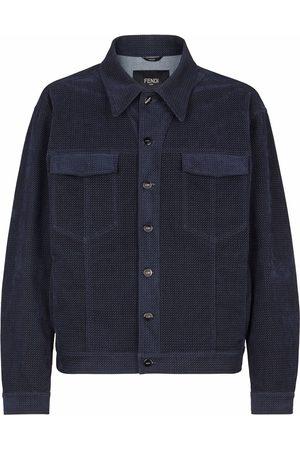 Fendi Men Jackets - FF-motif shirt jacket