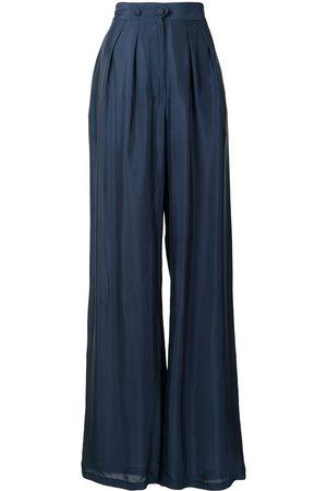 Liya Women Wide Leg Pants - Wide leg high-waisted trousers