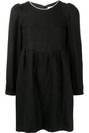 B+AB Women Dresses - Embellished neckline skater dress
