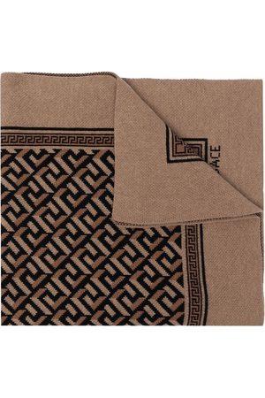 VERSACE Women Scarves - La Greca knitted scarf