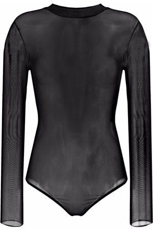 Alchemy Women Bodies - Sheer-mesh bodysuit
