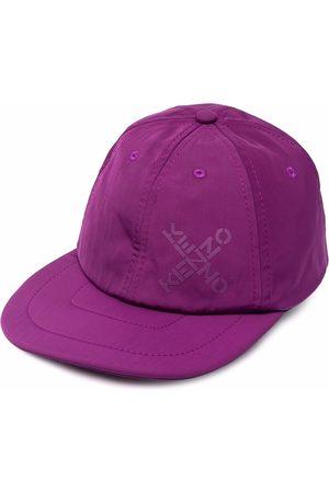 Kenzo Logo-print cotton cap