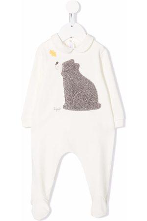 Il gufo Bear-detail babygrow