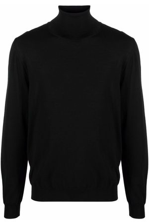 VALENTINO Men Turtlenecks - Roll-neck virgin wool jumper