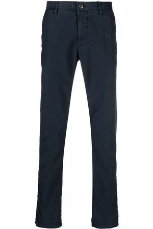Incotex Straight-leg cotton chinos