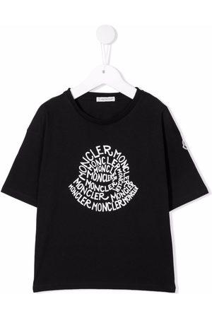 Moncler Boys T-shirts - Graphic-print cotton T-Shirt