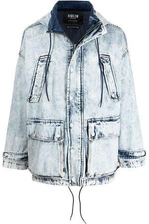 FIVE CM Acid wash jacket