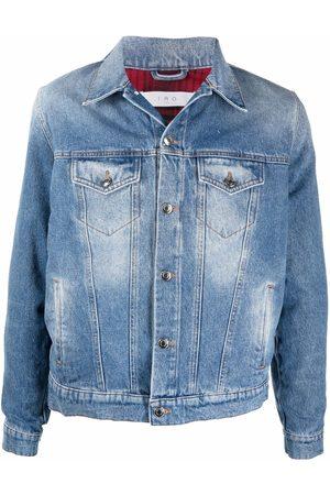 IRO Murphy faded denim jacket