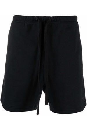 adidas Men Sports Shorts - Trefoil logo-patch track shorts