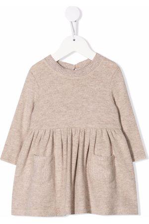 Caffe' D'orzo Carla knitted mini dress - Neutrals
