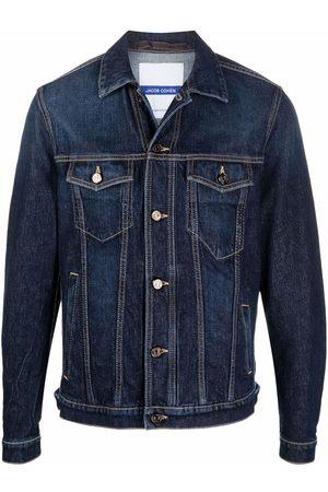 Jacob Cohen Contrast stitching denim jacket