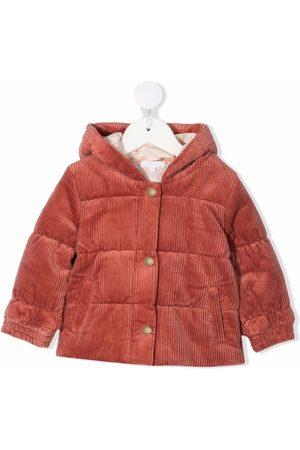 Chloé Puffer Jackets - Corduroy padded coat
