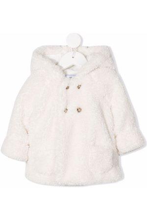 Tartine Et Chocolat Faux-fur hooded coat