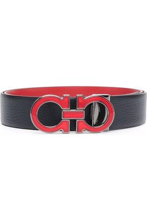 Salvatore Ferragamo Men Belts - Gancini-buckle leather belt