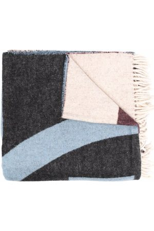 Tory Burch Women Scarves - Colour-block oversized scarf