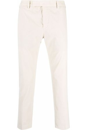 PT01 Cropped chino trousers - Neutrals