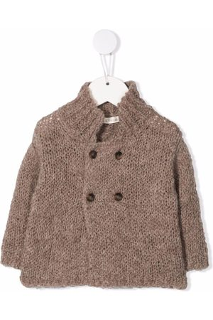 Zhoe & Tobiah Double-breasted knitted cardigan