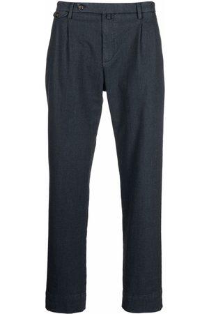 BRIGLIA Straight-leg tailored trousers