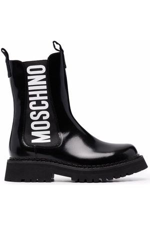 Moschino Side-logo chelsea boots