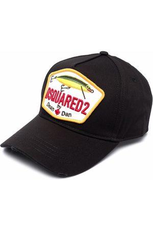 Dsquared2 Men Caps - Fishing logo-patch baseball cap