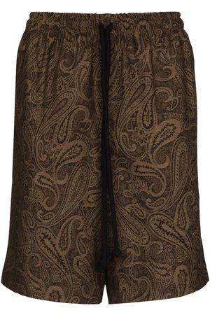 COMMAS Paisley-print Bermuda shorts