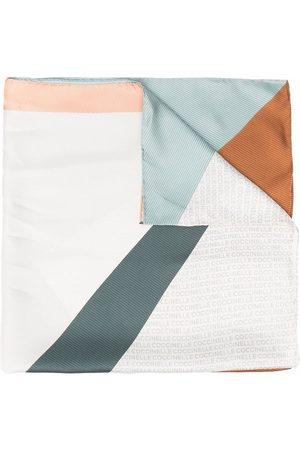 Coccinelle Women Scarves - Colour block print scarf - Neutrals