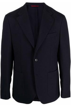 FAY Men Blazers - Single-breasted wool blazer