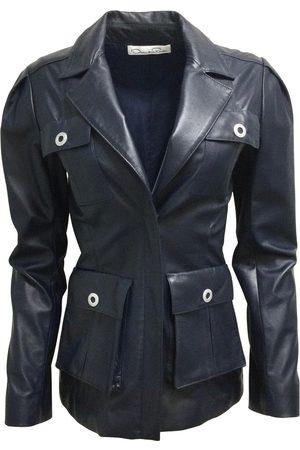 Oscar de la Renta Leather jacket