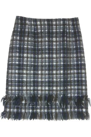 NATAN EDOUARD VERMEULEN Women Midi Skirts - Wool mid-length skirt