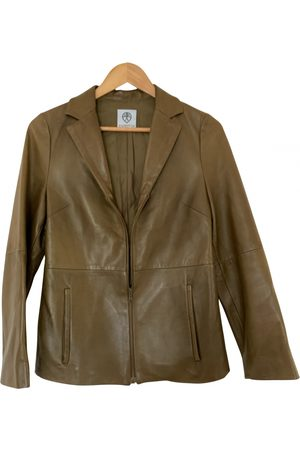ANDREW GN Leather biker jacket