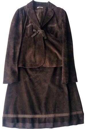 Paule Ka Women Leather Jackets - Leather suit jacket