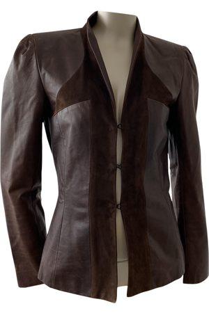 John Galliano Women Leather Jackets - Leather jacket