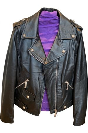 John Richmond Leather biker jacket