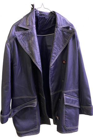 VALENTINO GARAVANI Women Leather Jackets - Leather biker jacket