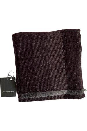Ermenegildo Zegna Men Pocket Squares - Wool scarf & pocket square