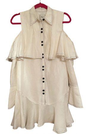 AJE Silk mini dress