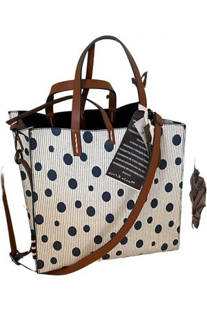 Manila Grace Leather crossbody bag