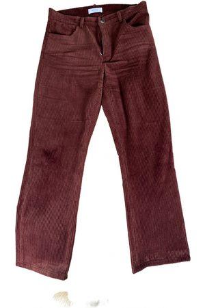 ROSEANNA Velvet straight pants